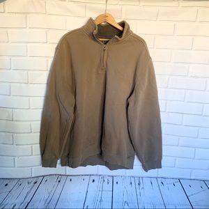 ARROW. 3/4 zip sweatshirt. Size XXL